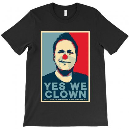 Yes We Clown T-shirt Designed By Delicous