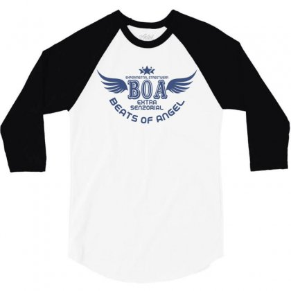 Experimental Streetwear Boa Extra Senzorial Beats Of Angel 3/4 Sleeve Shirt Designed By Neset