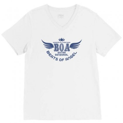 Experimental Streetwear Boa Extra Senzorial Beats Of Angel V-neck Tee Designed By Neset