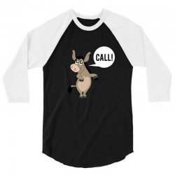 Donkey poker call 3/4 Sleeve Shirt | Artistshot
