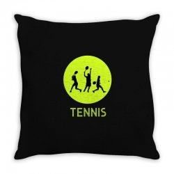 Tennis Throw Pillow | Artistshot
