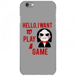 Hello, I want to play a game iPhone 6/6s Case   Artistshot