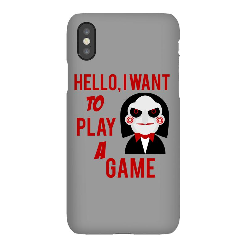 Hello, I Want To Play A Game Iphonex Case   Artistshot