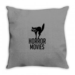 Horror movies scream Throw Pillow | Artistshot