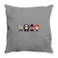 Masters of horror Throw Pillow | Artistshot