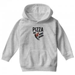 Pizza and horror movies Youth Hoodie   Artistshot