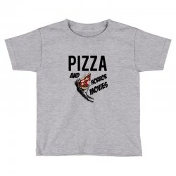 Pizza and horror movies Toddler T-shirt   Artistshot