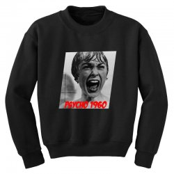 Psycho classic movies Youth Sweatshirt | Artistshot