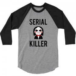 Serial killer horror 3/4 Sleeve Shirt | Artistshot