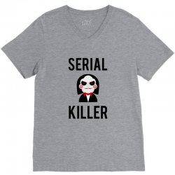 Serial killer horror V-Neck Tee | Artistshot