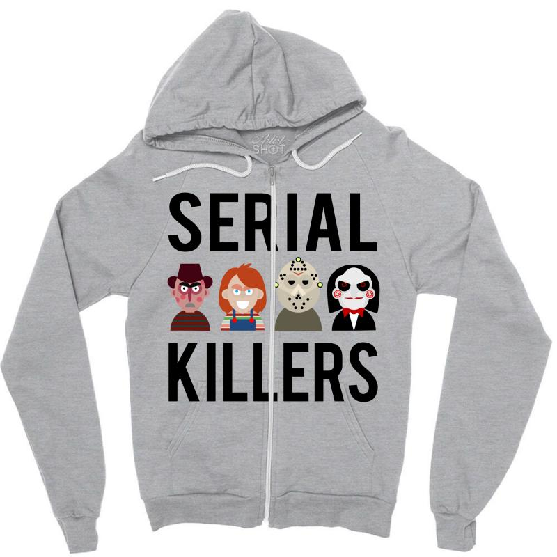 Serial Killers Zipper Hoodie | Artistshot