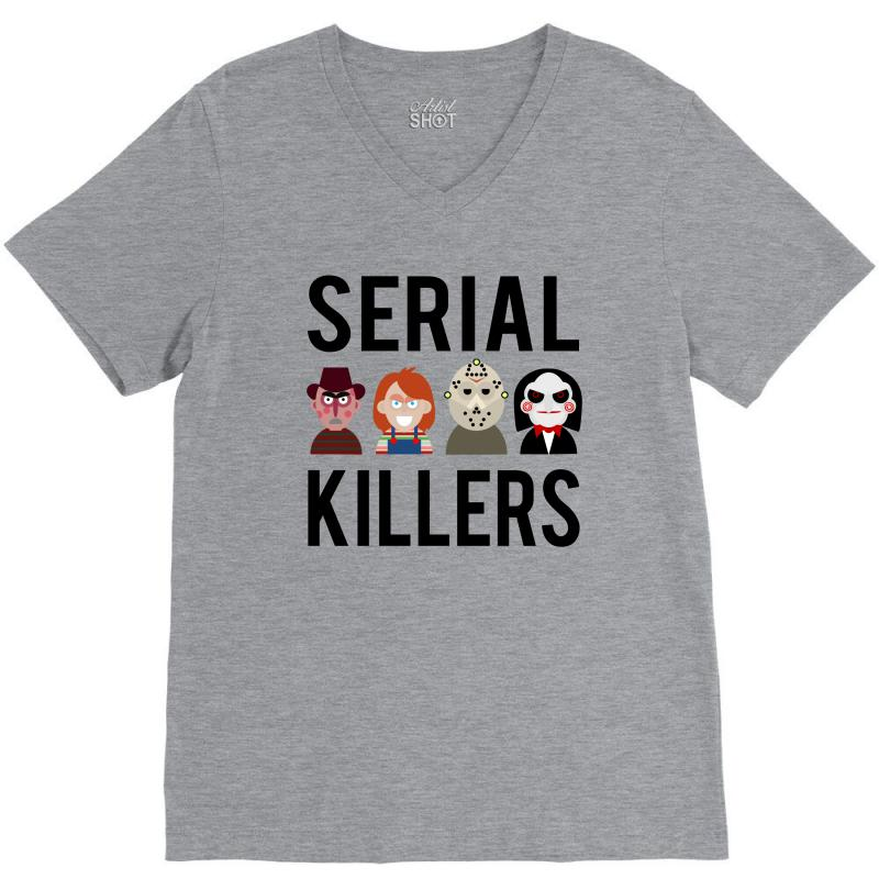 Serial Killers V-neck Tee | Artistshot