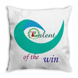 Talent of the win Throw Pillow   Artistshot