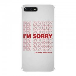 i'm sorry iPhone 7 Plus Case | Artistshot