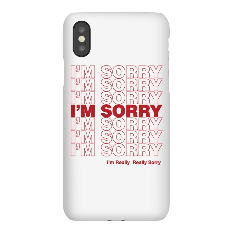 I'm Sorry Iphonex Case | Artistshot