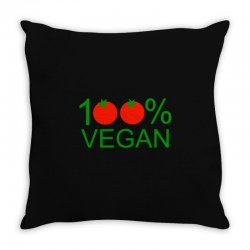 100% vegan Throw Pillow | Artistshot
