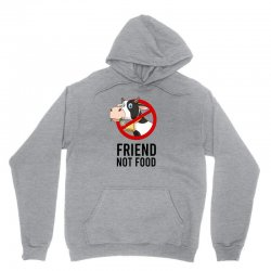 Friend not food Unisex Hoodie | Artistshot