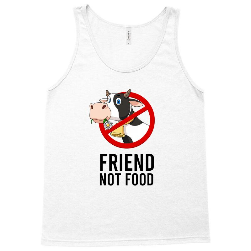 Friend Not Food Tank Top | Artistshot