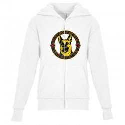 pitter patter lets get ater Youth Zipper Hoodie   Artistshot