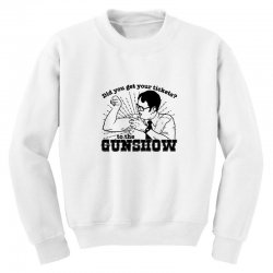 dwight schrute do you have your ticket to the gun show Youth Sweatshirt | Artistshot