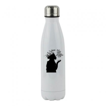 Gadis,girl Stainless Steel Water Bottle Designed By Eko Setiawan