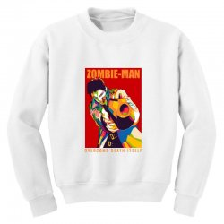 zombie man Youth Sweatshirt | Artistshot