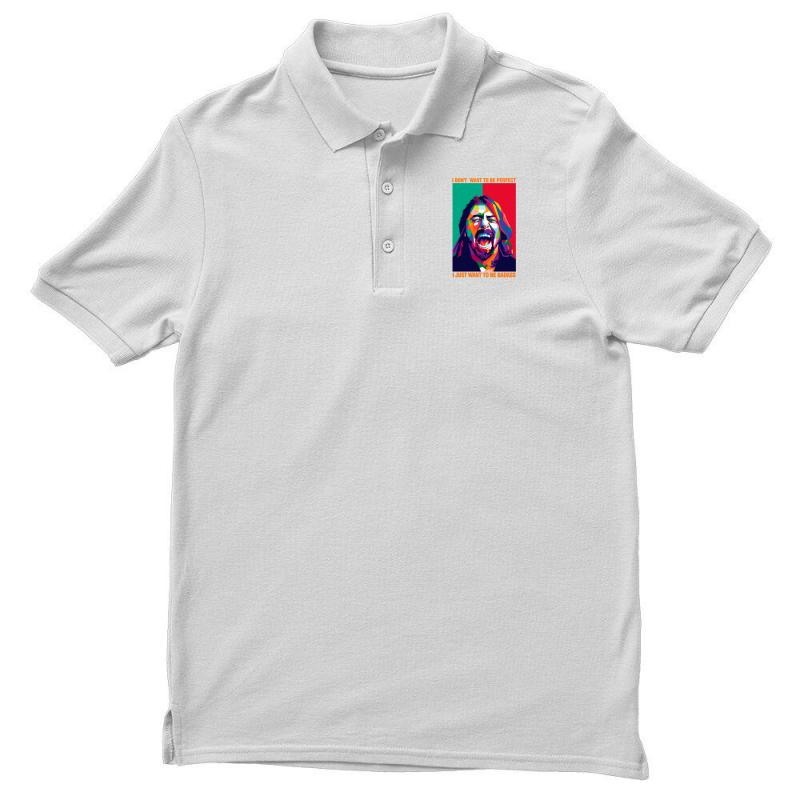 Be Badass As Dave Grohl Men's Polo Shirt | Artistshot