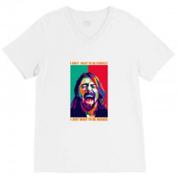 be badass as dave grohl V-Neck Tee | Artistshot