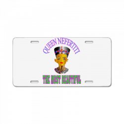 queen neafertiti t-shirt License Plate | Artistshot