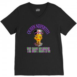 queen neafertiti t-shirt V-Neck Tee | Artistshot