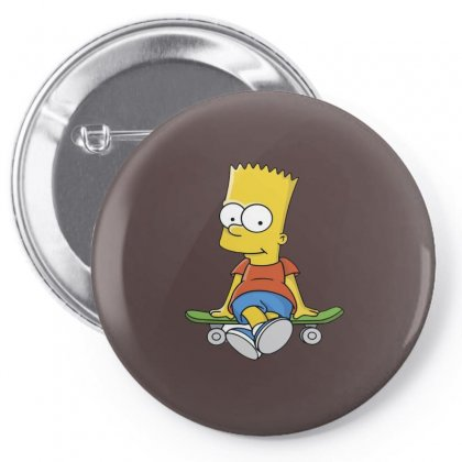 Simpson Pin-back Button Designed By Trisna