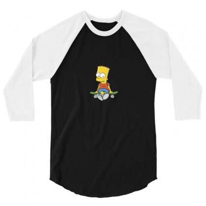 Simpson 3/4 Sleeve Shirt Designed By Trisna