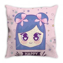 depositphotos 200037916 stock illustration happy birthday card with ka Throw Pillow | Artistshot