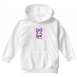 depositphotos 200037916 stock illustration happy birthday card with ka Youth Hoodie | Artistshot