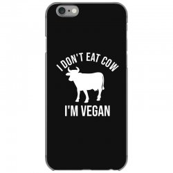 I don't eat cow I'm vegan iPhone 6/6s Case | Artistshot