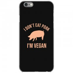 I don't eat pork I'm vegan iPhone 6/6s Case | Artistshot