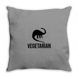 Vegetarian Throw Pillow | Artistshot