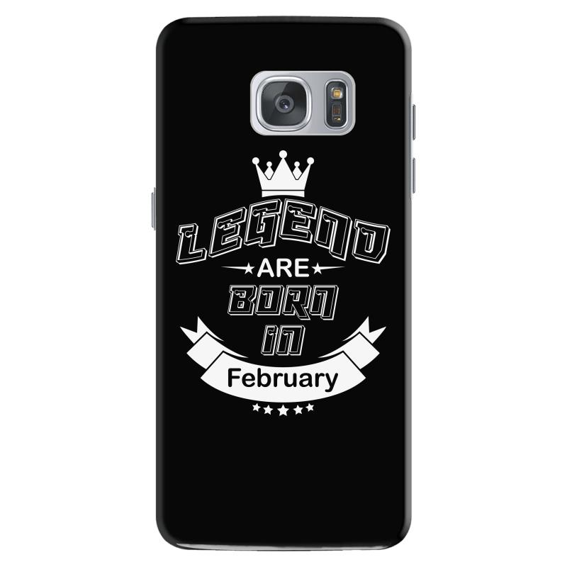 Legend Are Born February Samsung Galaxy S7 Case | Artistshot