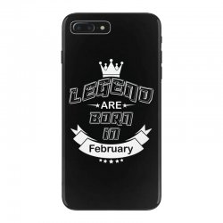 legend are born february iPhone 7 Plus Case | Artistshot