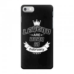 legend are born february iPhone 7 Case | Artistshot