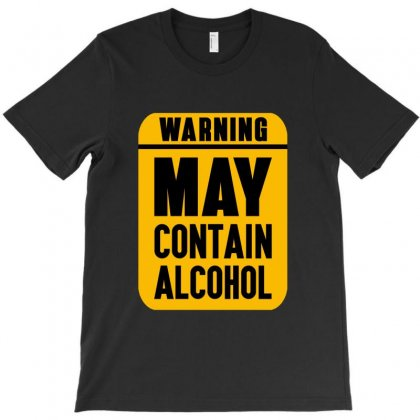 May Contain Alcohol T-shirt Designed By Jetstar99