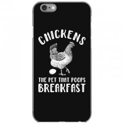 chickens the pet that poops breakfast iPhone 6/6s Case | Artistshot