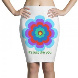 Thakurji flower1 Pencil Skirts | Artistshot