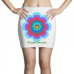 Thakurji flower1 Mini Skirts | Artistshot