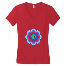 Thakurji flower1 Women's V-Neck T-Shirt | Artistshot