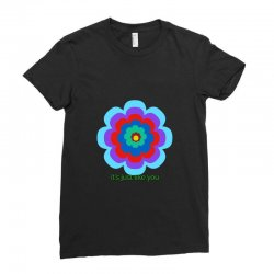 Thakurji flower1 Ladies Fitted T-Shirt | Artistshot