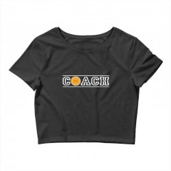 volleyball coach Crop Top | Artistshot