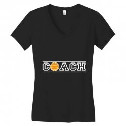 volleyball coach Women's V-Neck T-Shirt | Artistshot