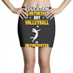 volleyball education is im portant Mini Skirts | Artistshot
