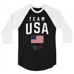 team usa olympics 3/4 Sleeve Shirt | Artistshot